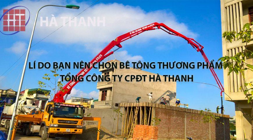 Lí do bạn nên chọn bê tông Liên doanh Việt – Nhật của Tổng Công ty CPĐT Hà Thanh