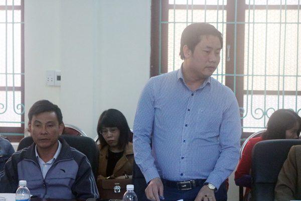 Giám đốc Cụm nhà máy liên doanh Việt Nhật Quảng Thịnh đ/c Lê Thanh Cường