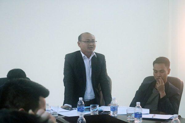 Giám đốc Cụm nhà máy liên doanh Việt Nhật Ngi Sơn - Như Thanh đ/c Nguyễn Văn Tuấn