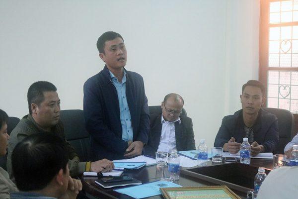 Trưởng phòng kinh doanh Tổng công ty Đ/c Vũ Long Biên