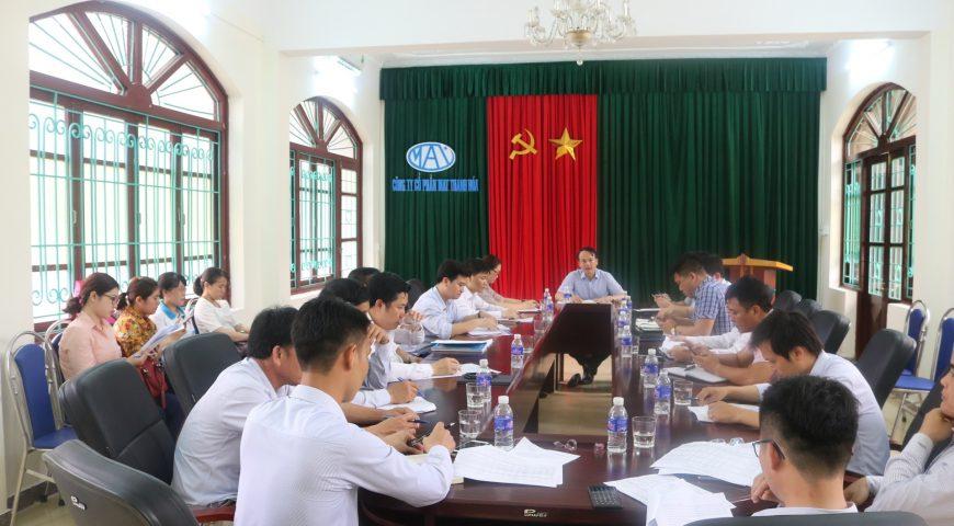 Tổng công ty đầu tư Hà Thanh sơ kết quý 1 năm 2019