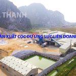 Quy trình sản xuất cọc dự ứng lực liên doanh Việt – Nhật