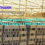 Sản phẩm gạch tuynel Phú Thịnh – Tổng Công ty CPĐT Hà Thanh