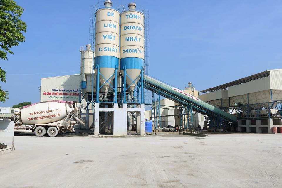 Quy trình sản xuất bê tông tươi đảm bảo chất lượng